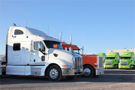 Trucking Logistics GPS Fleet Tracking